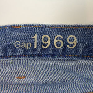GAP Jeans - Gap Men's Straight Blue Jeans 36x28 CL1226 0719